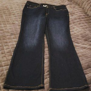 Lane Bryant 18 Tall Flared Jeans